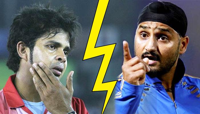 Harbhajan vs Sreesanth