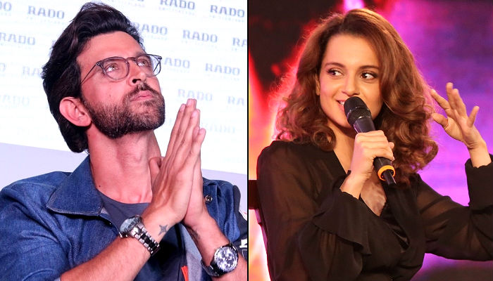 Hrithik Roshan, Kangana Ranaut, IANS photo