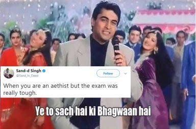Hum Saath Saath Hain, Ye Toh Sach Hai Ke Bhagwan Hai Meme, Twitter