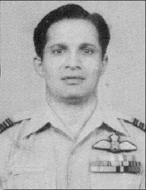 Flt Lt Dilip Parulkar