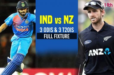India vs New Zealand Schedule