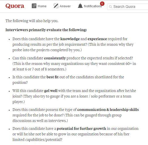 why should we hire you interview question
