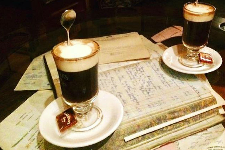 Irish Coffee, food