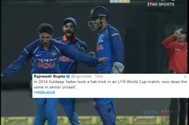 Kuldeep Yadav picks-up 'Hattrick', becomes 3rd Indian to do so in ODIs. Here's how world react