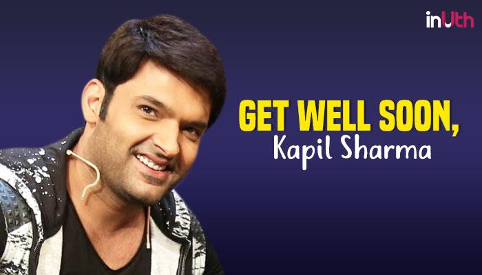 Kapil Sharma (Courtesy: IANS/Treatment by InUth, Chetan Kamal)