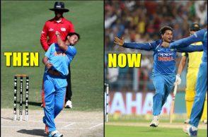 Kuldeep Yadav hattrick Under19, Kuldeep Yadav hattrick against Scotland, Kuldeep Yadav hattrick against Australia, India vs Australia 2nd ODI, Eden Gardens