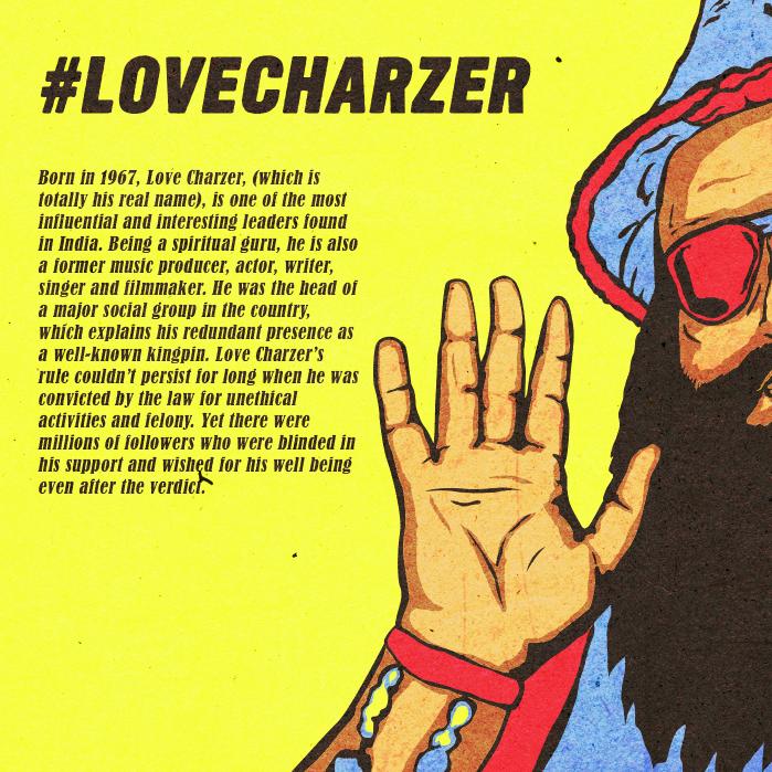 Love Charzer comics Saksham Verma