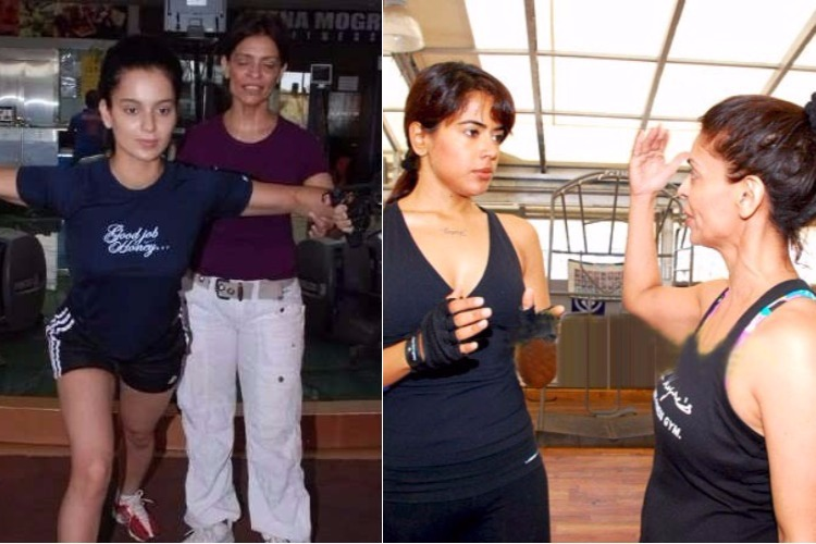 Leena Mogre training celebs