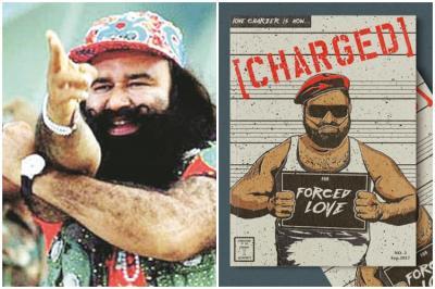 Guru Ram Rahim comics, Love Charzer Comics, Saksham Verma Love Charzer