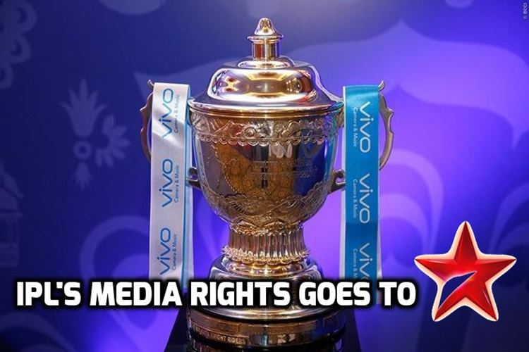 IPL 11 Media Rights Auction: STAR INDIA wins TV, Digital Rights with a whopping Rs. 16347.50 crore bid!