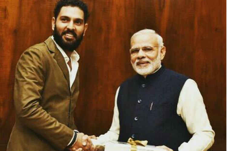 PM Narendra Modi lauds Yuvraj Singh for his 'YouWeCan' Cancer foundation in a heartfeltletter