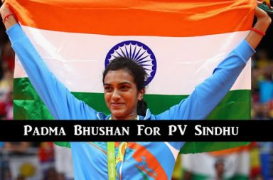 Indian shuttler PV Sindhu recommended for Padma Bhushan by Sports Ministry