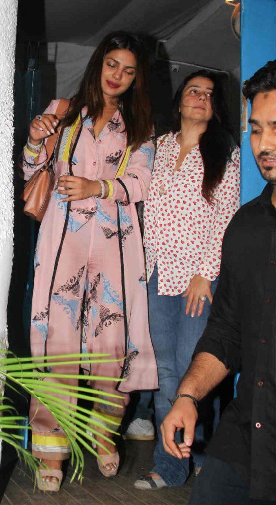 Priyanka Chopra in a Sanchita outfit