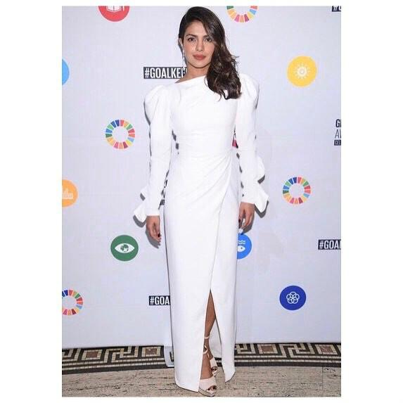 Priyanka Chopra at the UN Global Goals Awards