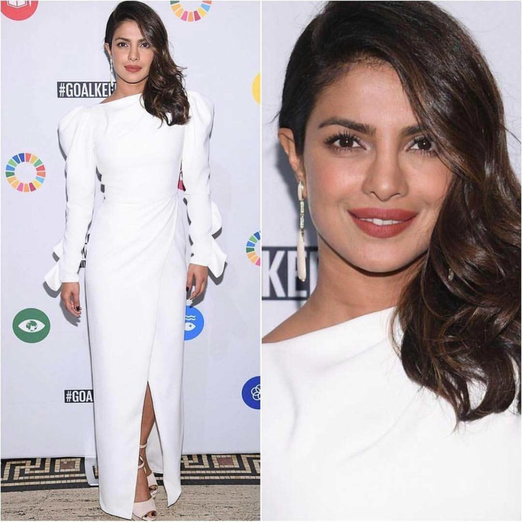 Priyanka Chopra at the UN Global Goals Awards
