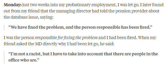 Quora ridiculous reasons for firing people