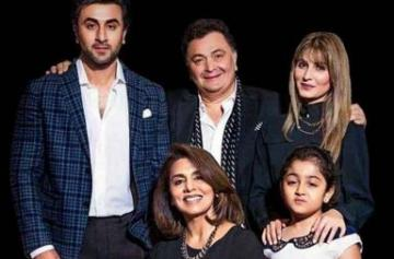 Unseen pic of Rishi Kapoor