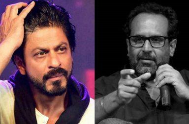 Shah Rukh Khan and Aanand L Rai
