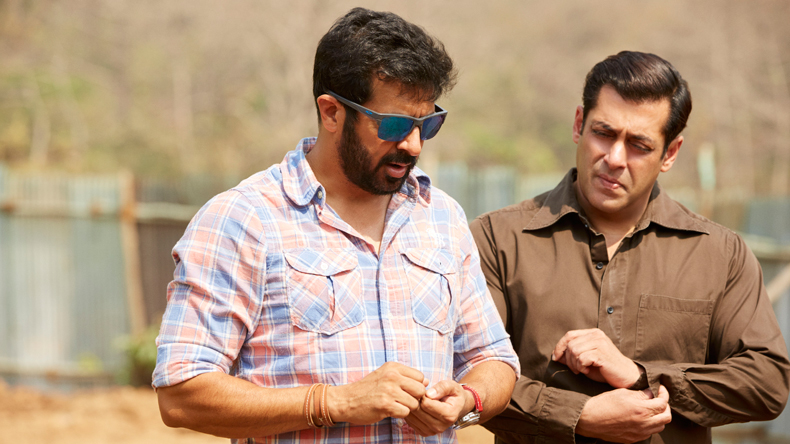 Salman Khan with Kabir Khan in Tubelight