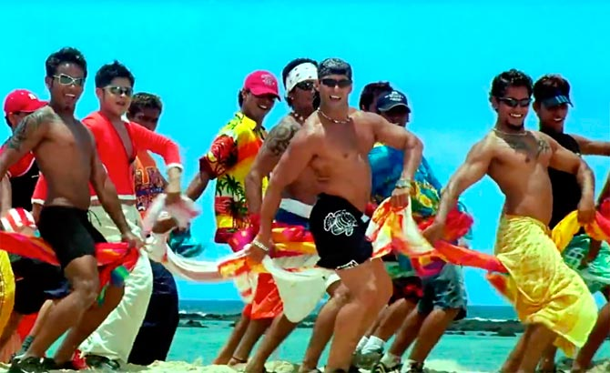 Salman Khan in a still from Mujhse Shaai Karogi