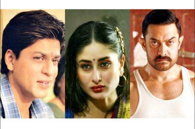 Aamir Khan, Shah Rukh Khan, Kareena Kapoor, Aamir Dangal, Shah Rukh Khan Chak De, SRK Swades, Kareena Chameli