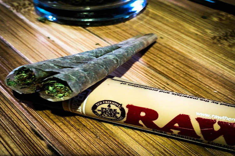 joint, marijuana