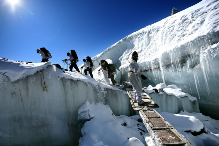 Siachen glacier, Indian Army