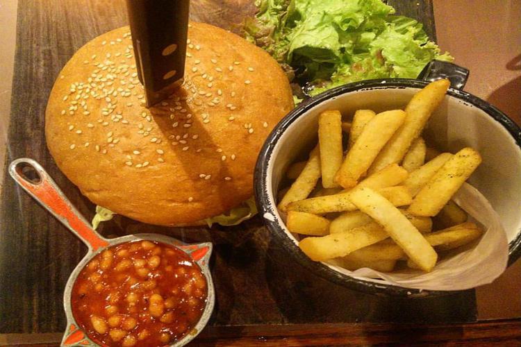 burger, food, delhi