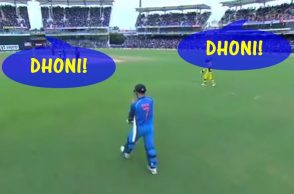 MS Dhoni Chennai, MS Dhoni King, BCCI, Chennai SuperKings, India vs Australia, Australia vs India, AUS vs IND, Dhoni-Dhoni chants, MS Dhoni 100th fifty