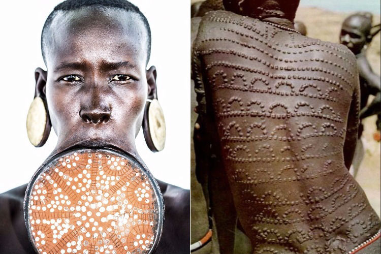 From lip plates to scarification: 9 weird tribal ...