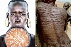 From lip plates to scarification: 9 weird tribal traditions around the world that are practised even today