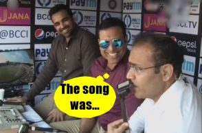 Virender Sehwag, Zaheer Khan, VVS Laxman, Virender Sehwag song, Virender Sehwag singing song during live match, Virender Sehwag, funny, India vs Australia 2017, Virender Sehwag funny commentary, Virender Sehwag singing song while batting