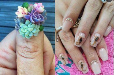 Weird nail art trend