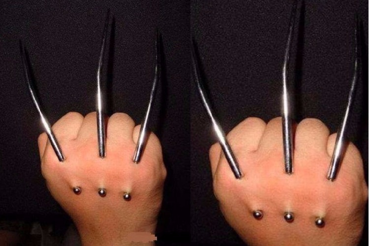 Wolverine implant, lifestyle