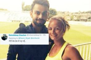 Virat Kohli, Danielle Wyatt, England Women cricketer, VIrat Kohli fans, England cricketer proposes Virat Kohli, Danielle Wyatt marriage proposal