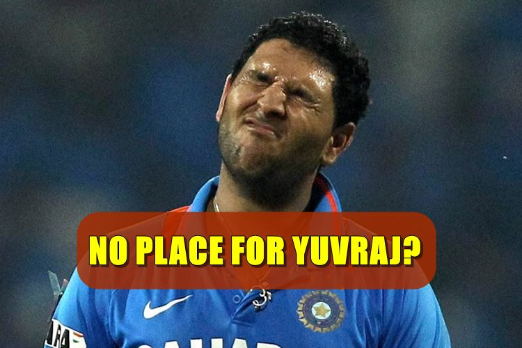Yuvraj Singh not even included in top 74 players by BCCI, will this be the end of the road for India's 2011 WC hero?