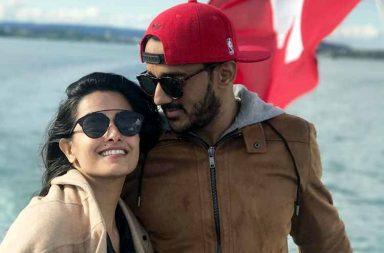 Anita Hassanandani and Rohit Reddy's Switzerland vacation photo
