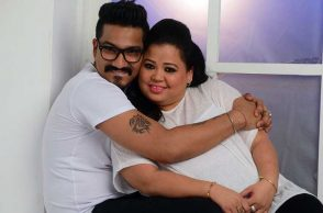 Bharti Singh and Haarsh Limbachiya's pre-wedding photoshoot pic