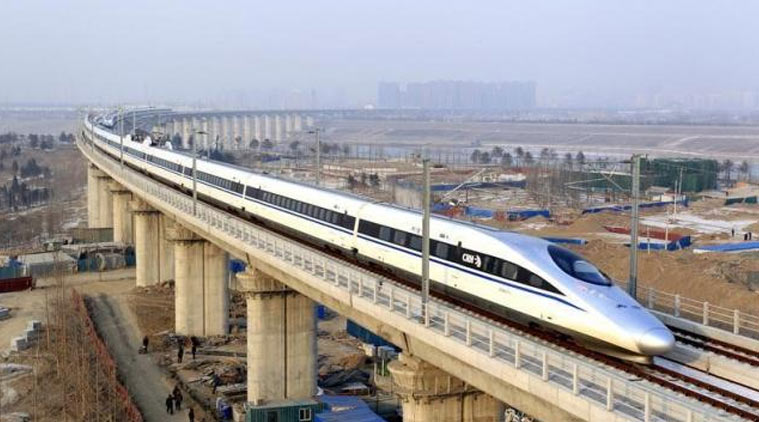 China shows interest in high speed rly projects in India