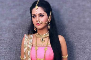 Dalljiet Kaur is the new Maa Durga on TV