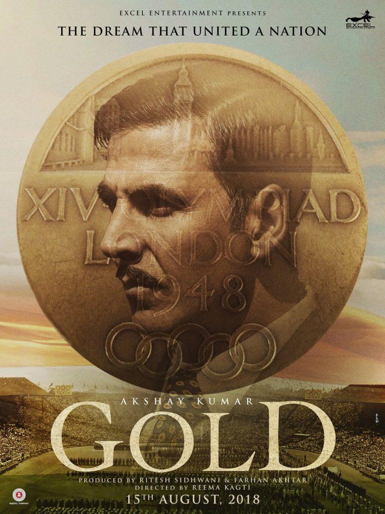 Gold poster, Akshay Kumar Gold, inuth.com