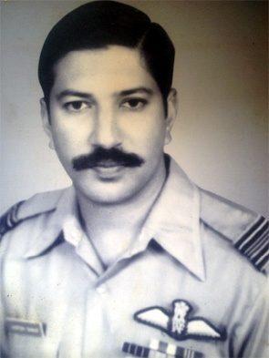 Flt Lt Harish Sinhji