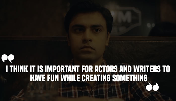 Jeetu in a still from TVF Pitchers (Treatment by InUth, Chetan Kamal)