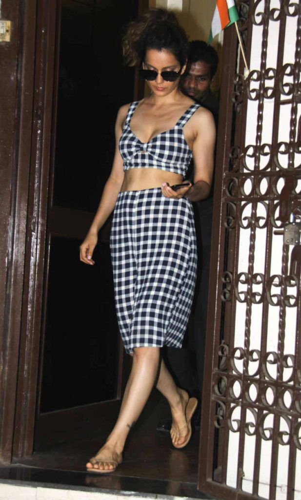 Kangana Ranaut in a Reformation Petites Clinton Two Piece
