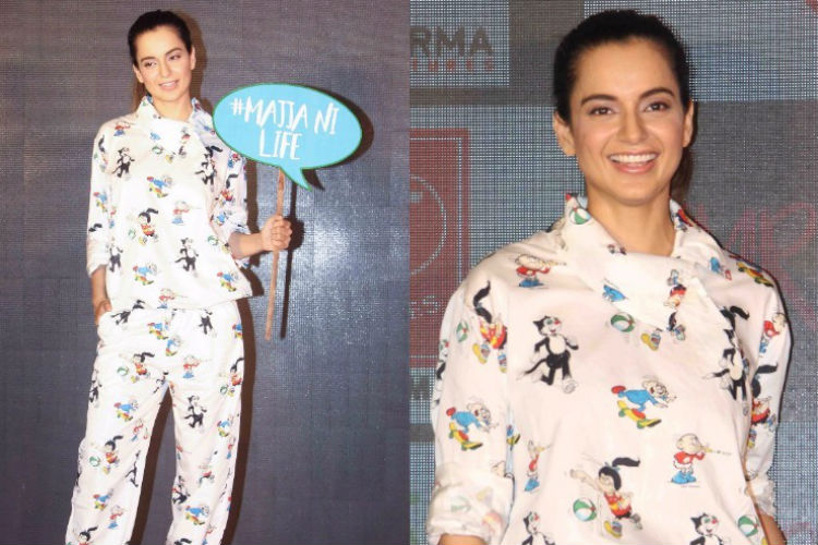 Kangana Ranaut's latest 'nightsuit' is as expensive as your trip toSpain