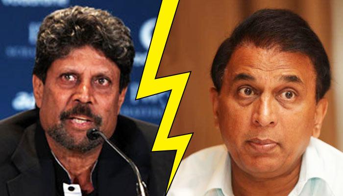 Kapil Dev vs Sunil Gavaskar