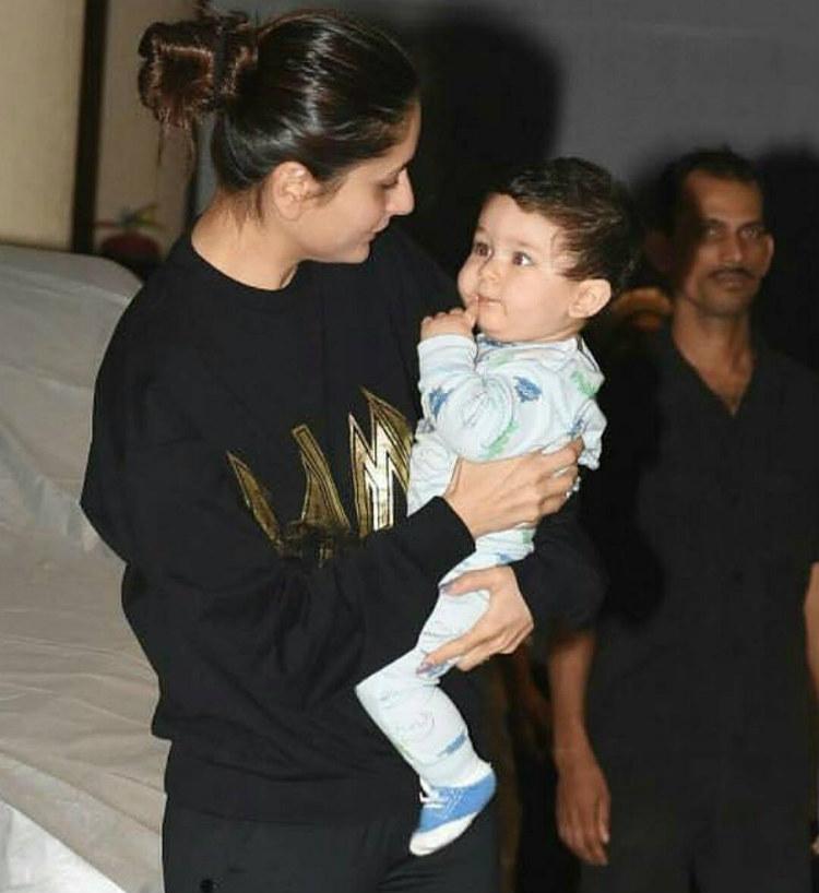 Kareena Kapoor with son Taimur Ali Khan