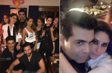 Inside pics from Kareena Kapoor's birthday bash