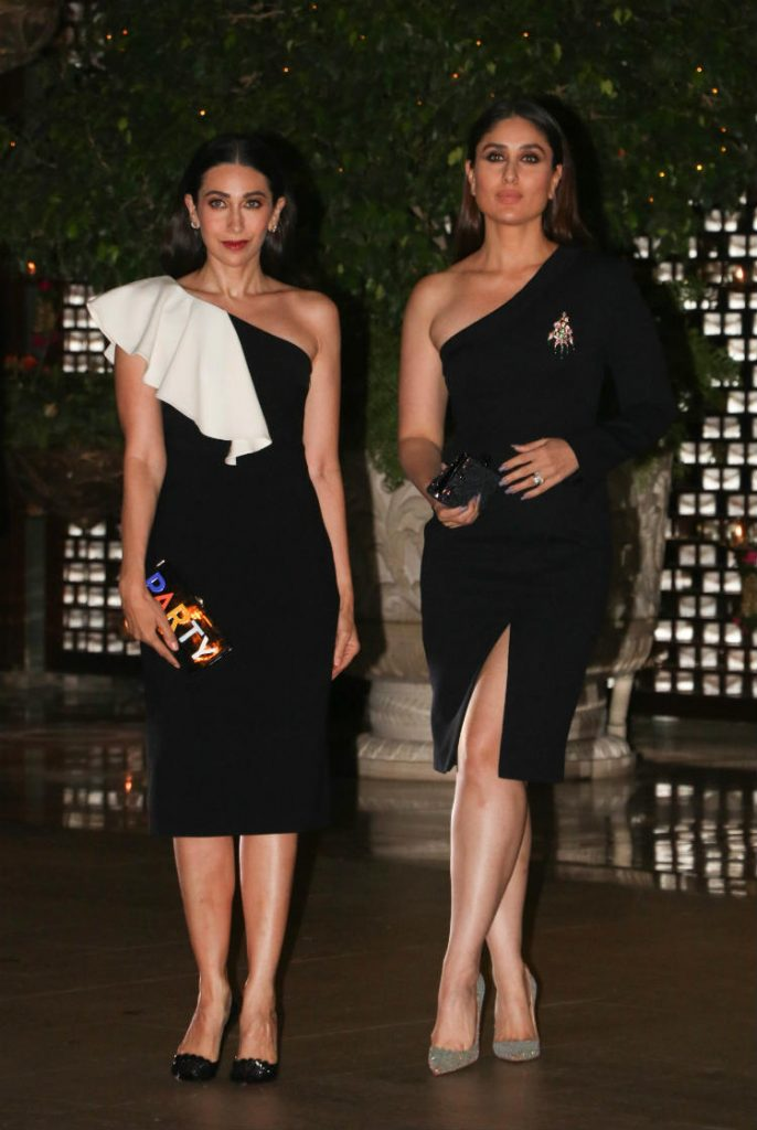 Karisma Kapoor, Kareena Kapoor at the Ambani's bash
