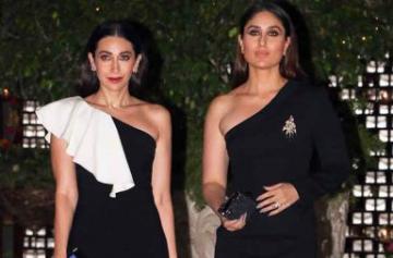 Kareena and Karisma Kapoor at Ambani's party